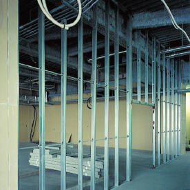 建築用鋼製壁下地材